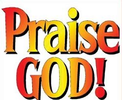 Praising God! (Psalm 118:28-29)